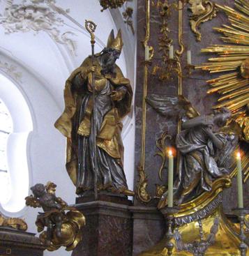 St. Nikolaus in der Klosterkirche Andechs