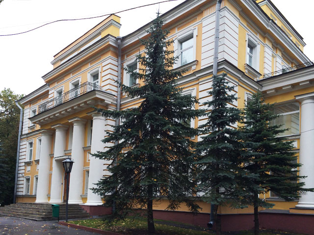 Napoleons Quartier auf dem Weg nach Moskau